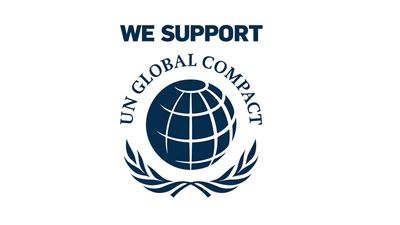 The UN global compact logo Photo/illustration: United Nations